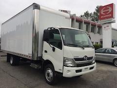 2019 HINO 195 With 22' dry van body