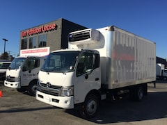2019 HINO 195 With 16' Reefer van & standby