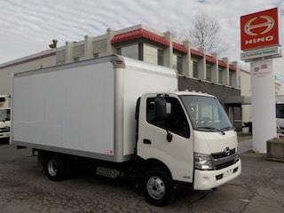 2013 HINO 155 with 16' Dry van body