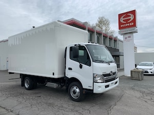2019 HINO 195 with 18' dry van body