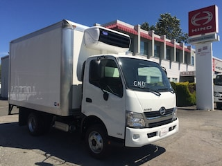 2018 HINO 155 With 12' reefer van with electric standby