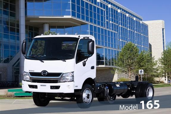 HINO 165-COE   Vancouver Hino Truck Sales