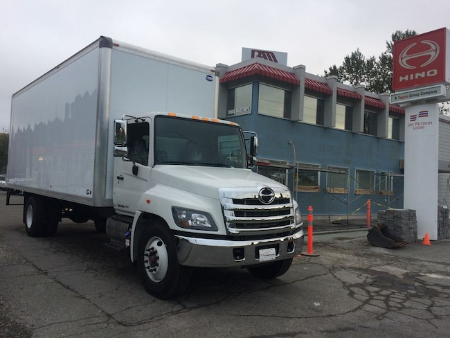 2019 HINO 338 with 24' dry van body