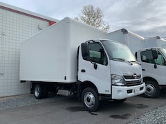 2019 HINO 155 with 16' Dry van body