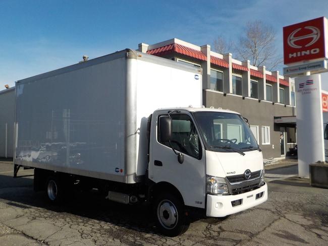 2019 HINO 195 w/18' dry van body