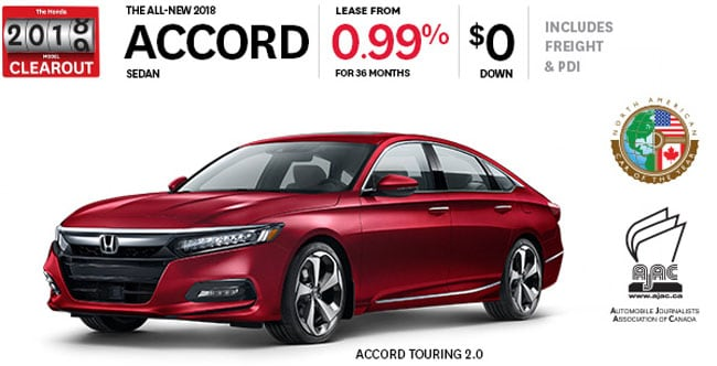 View 2018 Accord Inventory
