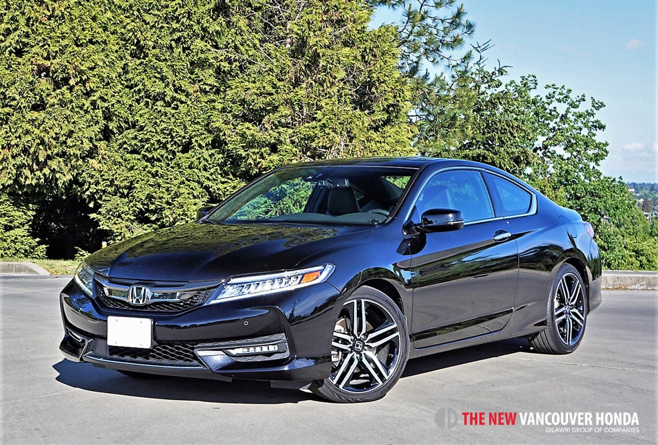 2017 Honda Accord Coupe Touring V6 Road Test Review Vancouver Honda