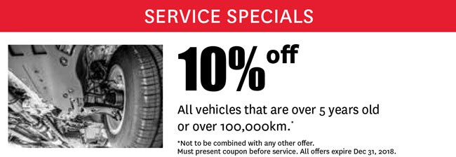 10% off high mileage vehicles