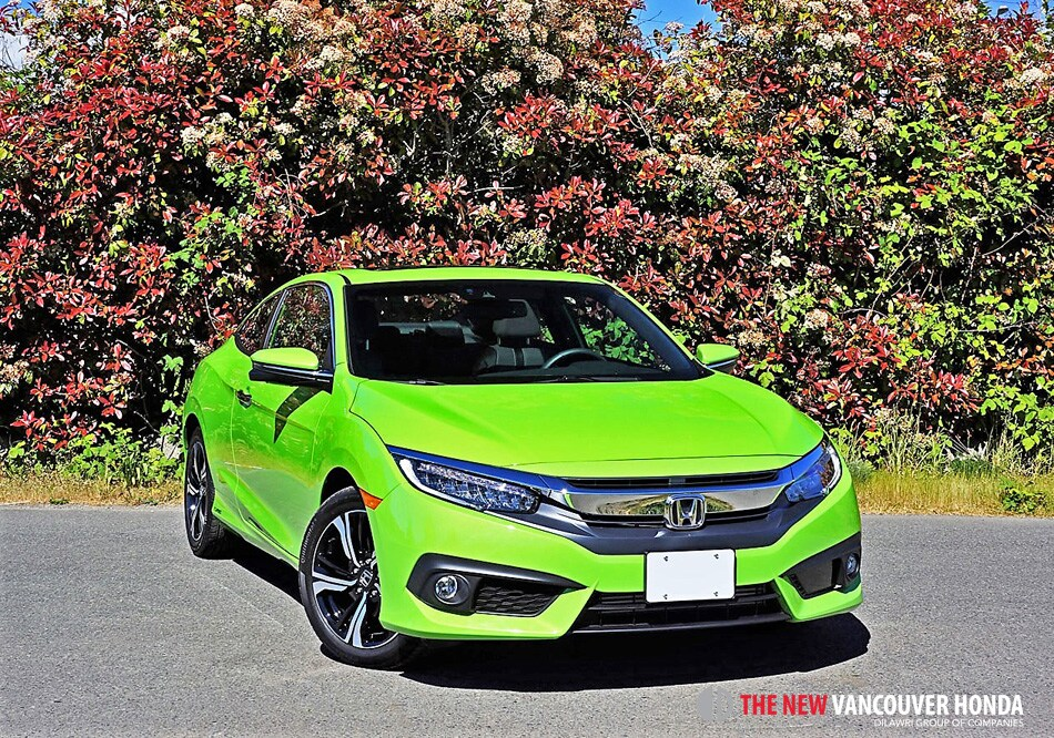 2017 honda civic coupe touring road test review vancouver honda. Black Bedroom Furniture Sets. Home Design Ideas