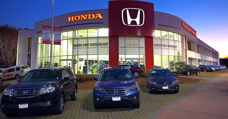 Vancouver Honda New Honda Dealership In Vancouver Bc V6p 5z1