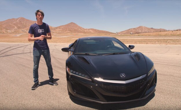 VIDEO: Acura NSX Delivers Top Performance on