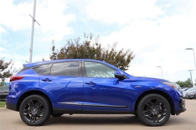 New 2019 Acura Rdx For Sale Apex Blue Pearl 2019 Rdx With A Spec