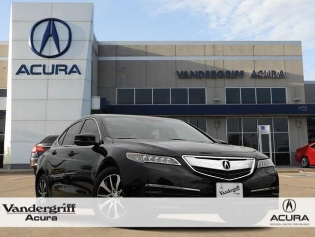 2016 Acura TLX Base (DCT) Sedan
