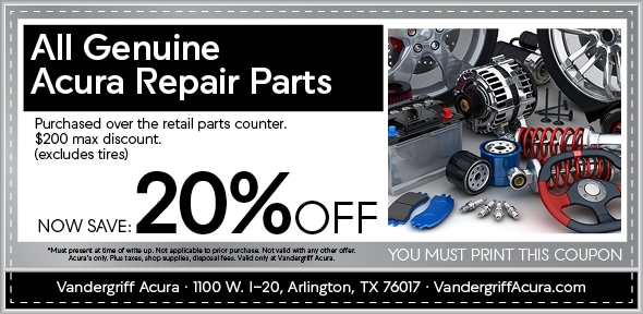 All Genuine Acura Repair Parts, Arlington, TX