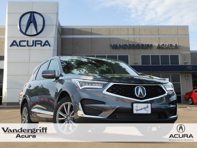 New 2020 Acura Rdx With Technology Package For Sale In Arlington Tx