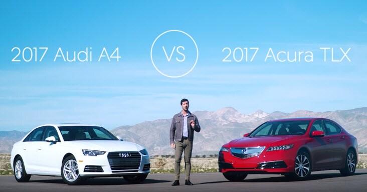 Acura TLX vs Audi A4