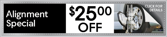 Tire Alignment Coupon, Arlington