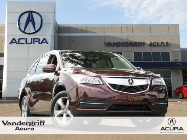 2016 Acura Mdx For Sale >> Certified 2016 Acura Mdx Mdx For Sale In Arlington Tx Gb021957