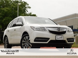 2015 Acura MDX MDX with Technology Package SUV