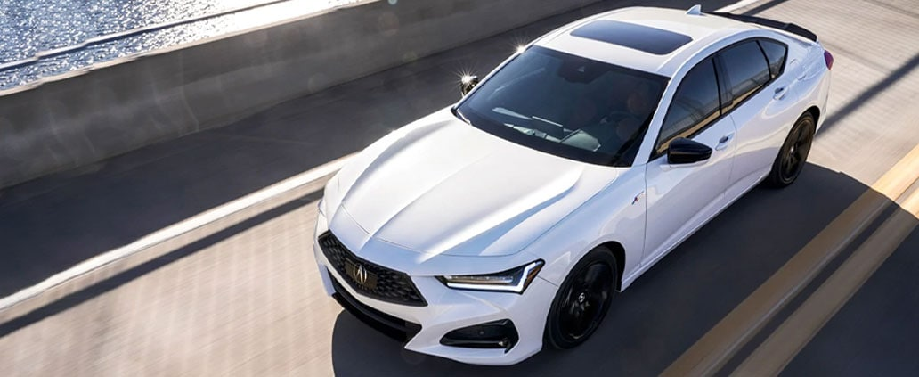 2021 Acura TLX with A-Spec Package