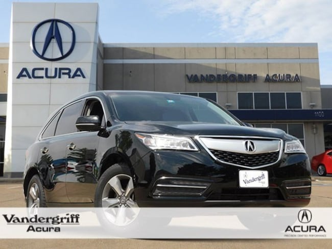2016 Acura Mdx For Sale >> Certified 2016 Acura Mdx Mdx For Sale In Arlington Tx Gb019162