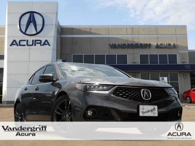 New 2020 Acura Tlx With A Spec Package And Red Interior For Sale In