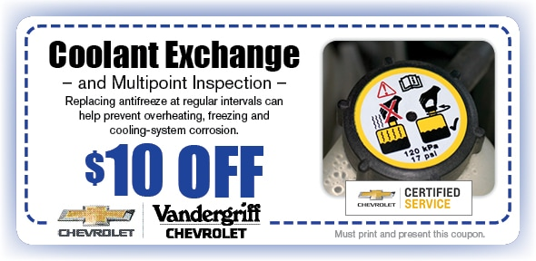 Coolant Exchange, Arlington, TX Automotive Service Special Special