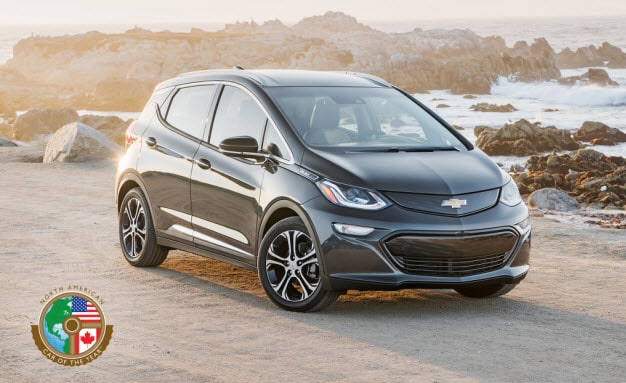 Chevy Bolt North American Car of the Year