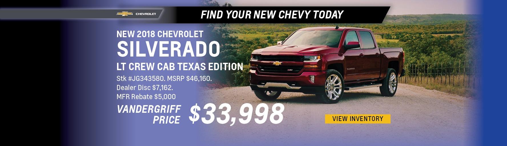 New Chevrolet Near Mansfield