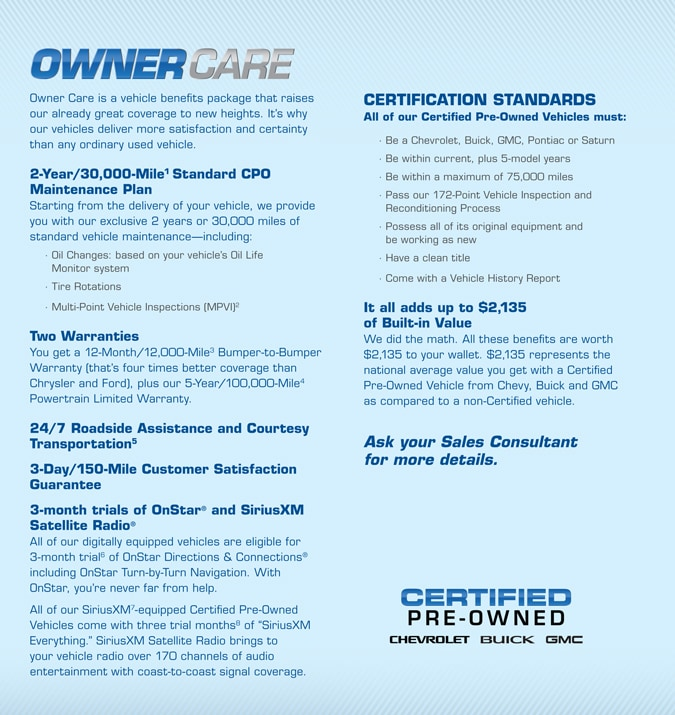 Benefits Of Certified Pre Owned Chevy Used Chevy Cars Arlington Tx