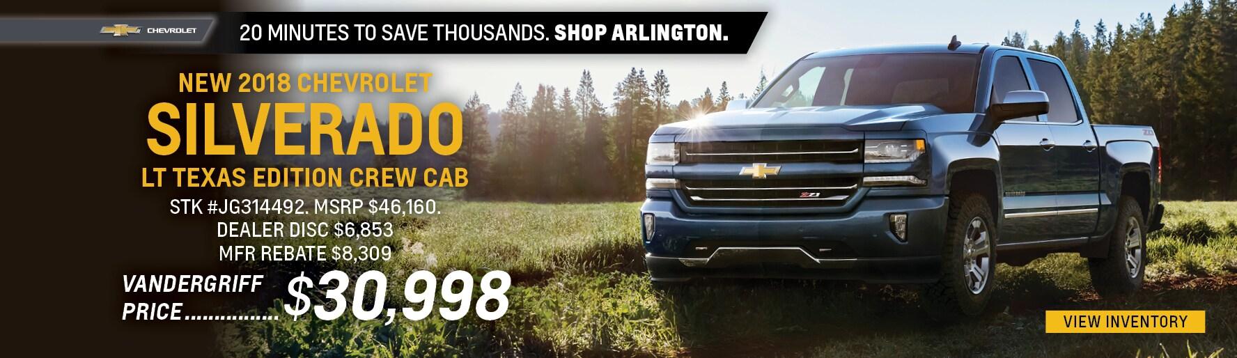 Chevrolet Dealer | New & Used Chevy Cars & Service | Arlington TX