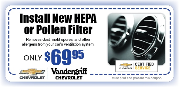 HEPA or Pollen Filter, Arlington, TX Automotive Service Special Special