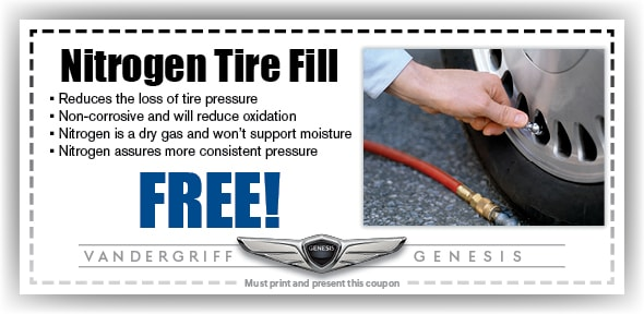 Nitrogen Tire Fill, Arlington, TX Automotive Service Special Special