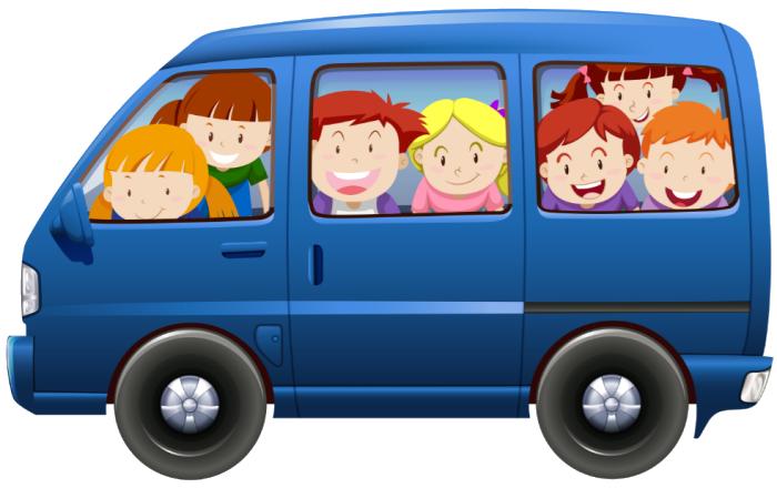 Carpooling Kids to School