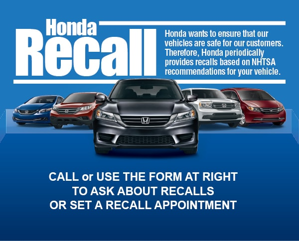 Fill out the Form and We'll Check Your Vehicle for Recalls!