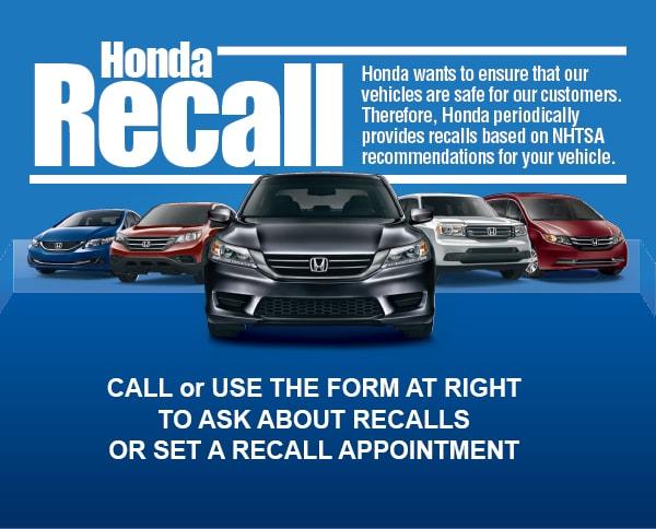 Recalls Honda Com >> Honda Recall Inquiry Texas Honda Recall Arlington Tx
