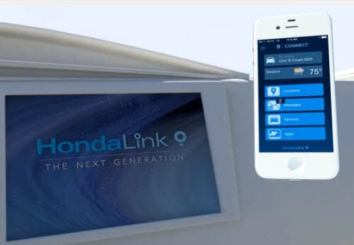 HondaLink Connect App