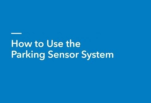 Honda Parking Sensing System