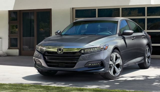 2018 Honda Accord front fascia