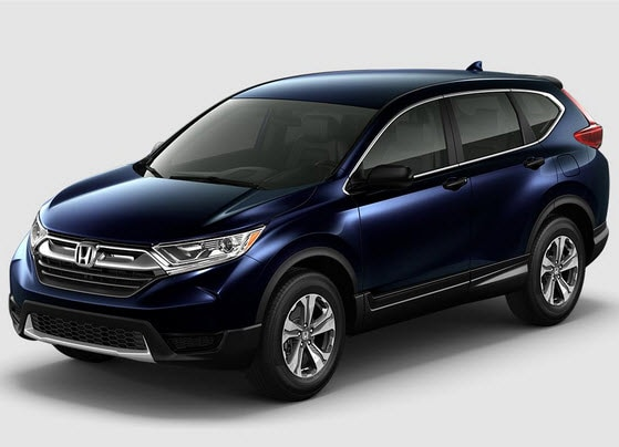 Honda CR-V KBB Best 2-Row SUV for Families 2017