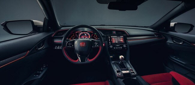 Civic Type R dashboard - interior