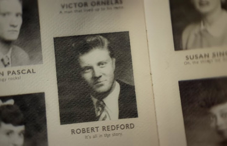 Robert Redfor Honda Yearbook