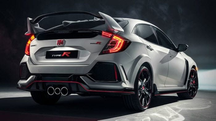 Honda Civic Type R rear photo