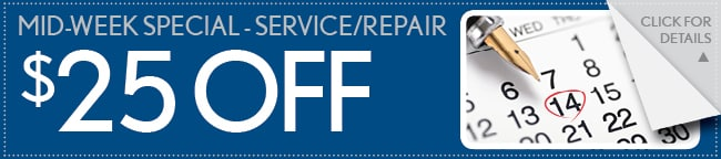 $25 Off Any Service or Repair, Arlington