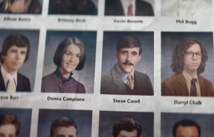 Steve Carell Honda Yearbook