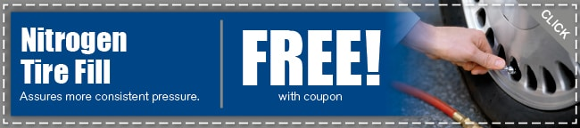 Nitrogen Tire Service Coupon, Arlington