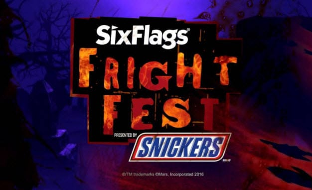 Six Flags Over Texas - Fright Fest 2017