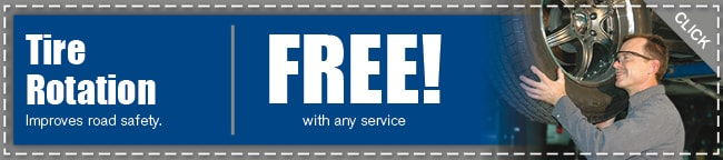 Tire Rotation Service Coupon, Arlington