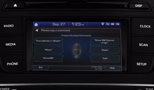 Hyundai Voice Command - Destination Entry