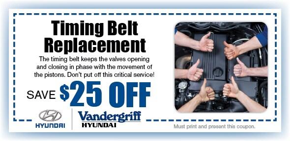 Timing Belt | Vandergriff Hyundai Service Arlington TX